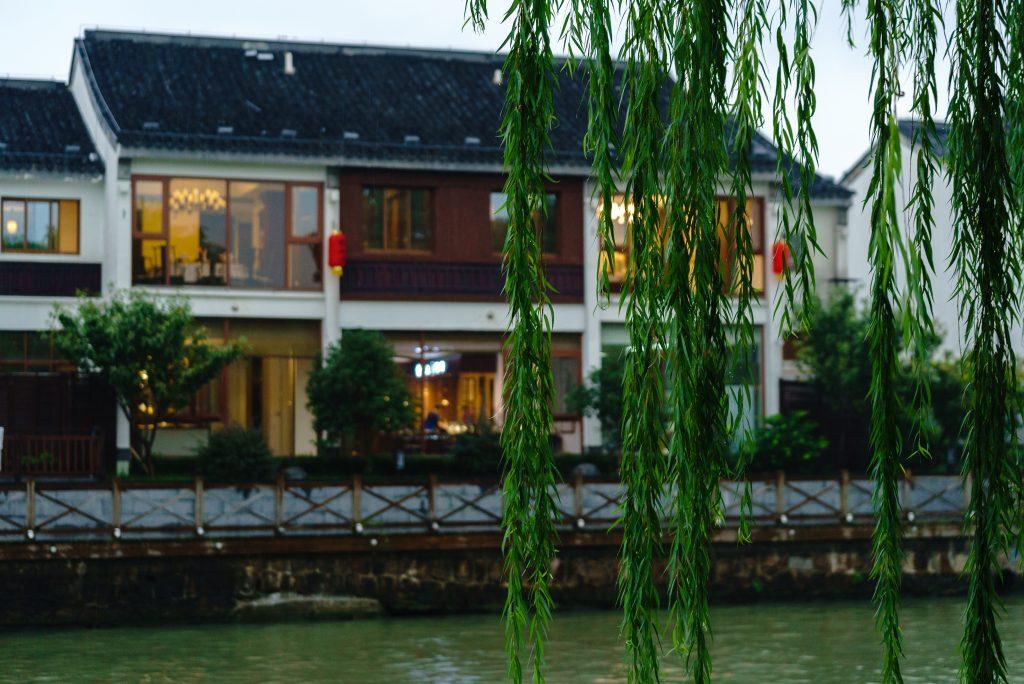 京杭大運河の風景