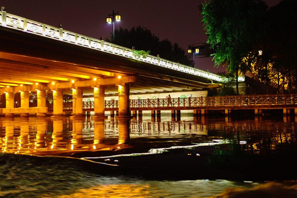蘇州運河ナイトクルーズ2