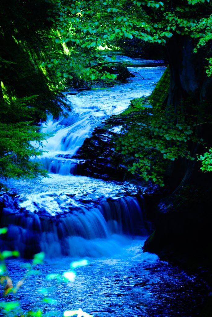 濃溝の滝の風景1