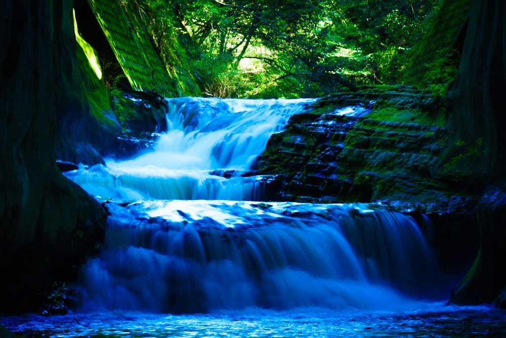 濃溝の滝の風景4