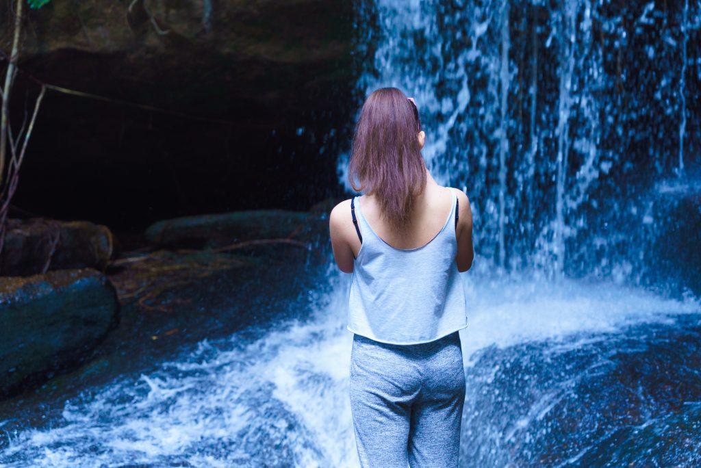 クバルスピアンの滝